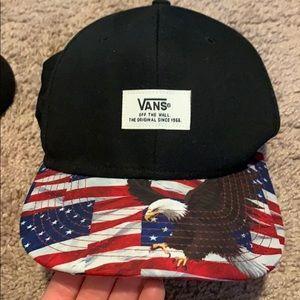 American Flag VANS Snapback